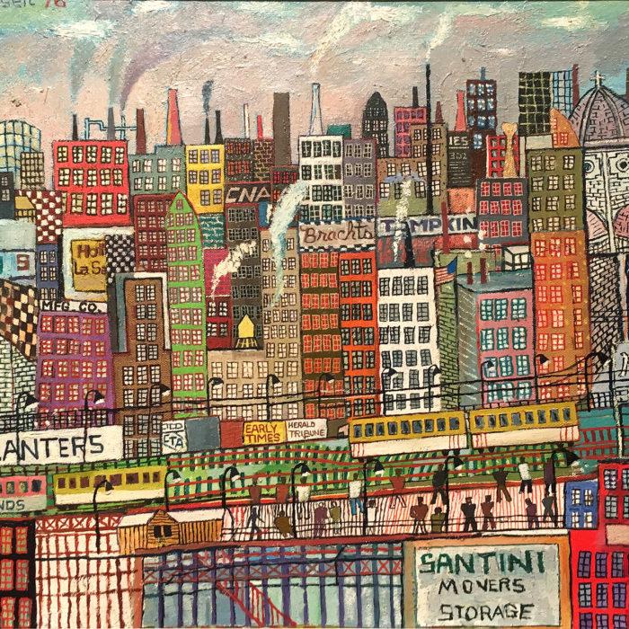 Untitled (Cityscape)
